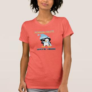 ペンギンの海賊: Timburrr私は震えます Tシャツ