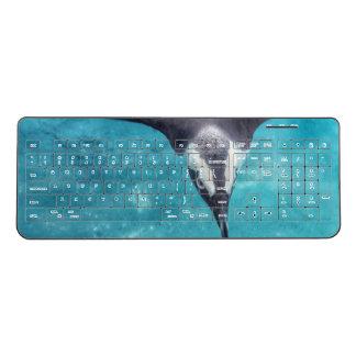 ペンギンの無線電信のキーボード ワイヤレスキーボード