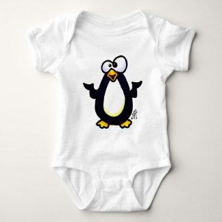 ペンギンの熟考 ベビーボディスーツ