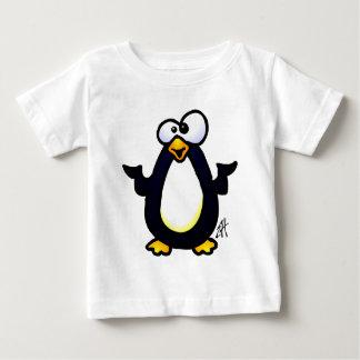 ペンギンの熟考 ベビーTシャツ