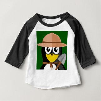 ペンギンの考古学者 ベビーTシャツ
