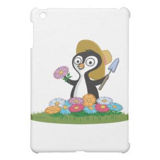 ペンギンの花の庭師 iPad MINI カバー