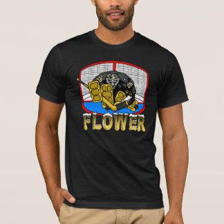 ペンギンの花のTシャツ Tシャツ