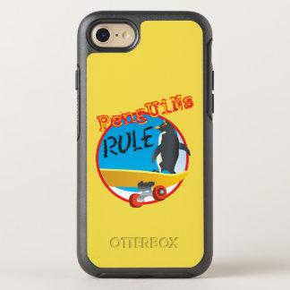 ペンギンの規則のカワウソ箱 オッターボックスシンメトリーiPhone 8/7 ケース