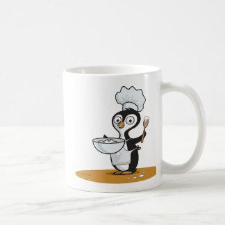 ペンギンの調理師 コーヒーマグカップ