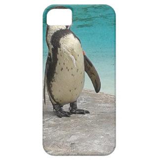 ペンギンの電話箱 iPhone SE/5/5s ケース