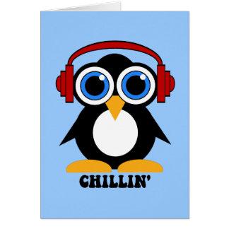 ペンギンのchillin カード