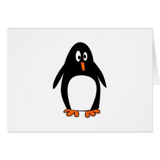 ペンギンのLinuxのタキシードのイメージ カード