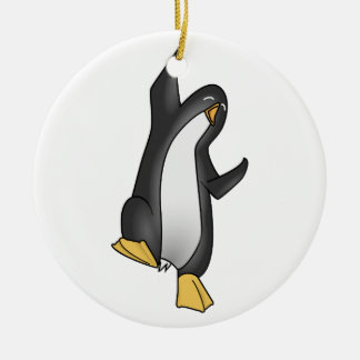 ペンギンのLinux セラミックオーナメント