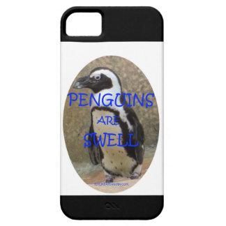 ペンギンはうねりです iPhone SE/5/5s ケース