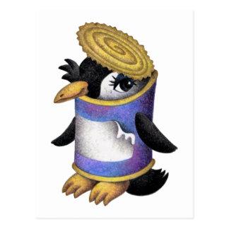 ペンギンはできます ポストカード