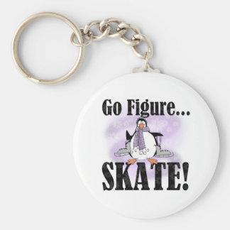 ペンギンはフィギュアスケート行きます キーホルダー