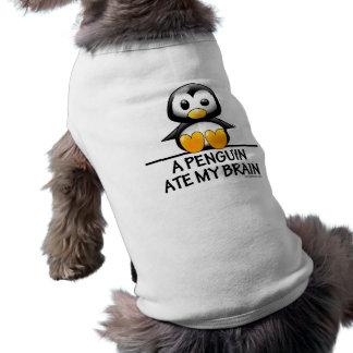 ペンギンは私の頭脳を食べました ペット服