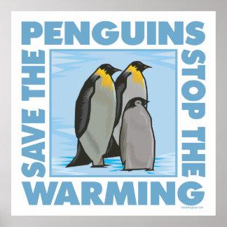 ペンギンを救って下さい ポスター