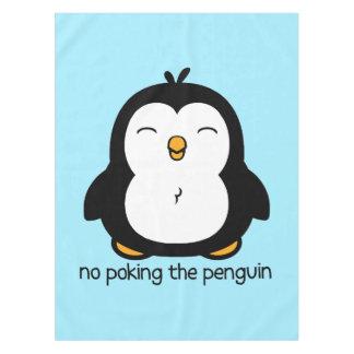 ペンギンを突くこと テーブルクロス