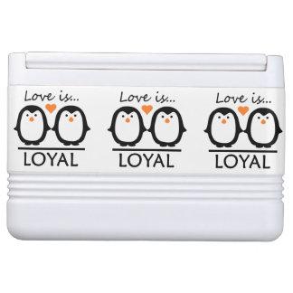 ペンギン愛カスタムのクーラー IGLOOクーラーボックス