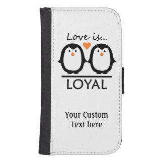 ペンギン愛カスタムのケース ウォレットケース