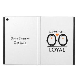 ペンギン愛カスタムのケース iPad AIRケース