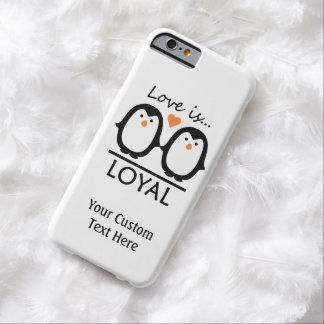ペンギン愛習慣のケース BARELY THERE iPhone 6 ケース