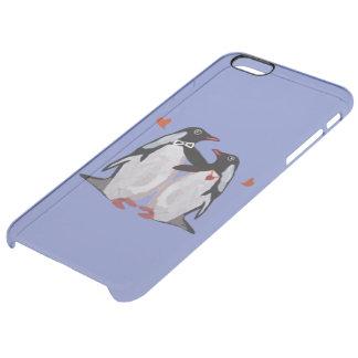 ペンギン愛 クリア iPhone 6 PLUSケース