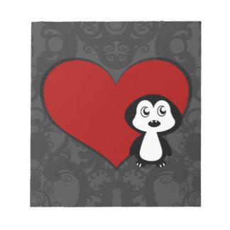 ペンギン愛IV ノートパッド