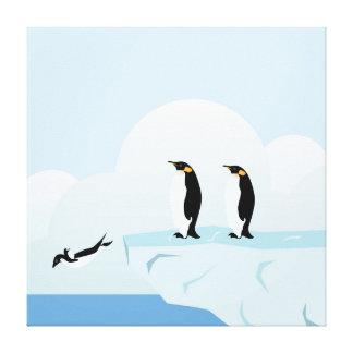 ペンギン キャンバスプリント
