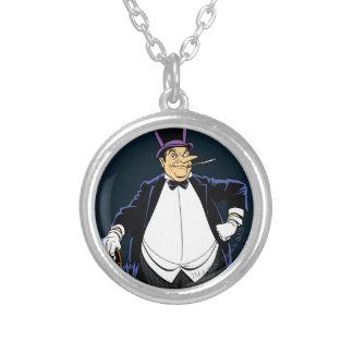 ペンギン シルバープレートネックレス