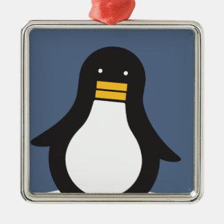 ペンギン メタルオーナメント