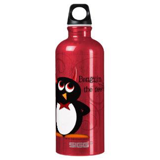 ペンギン、新しい黒 ウォーターボトル