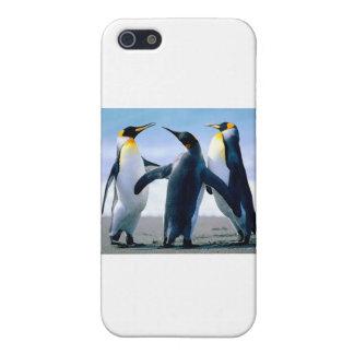 ペンギン iPhone SE/5/5sケース