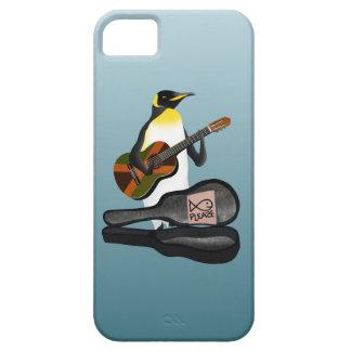 ペンギンBusking iPhone SE/5/5s ケース