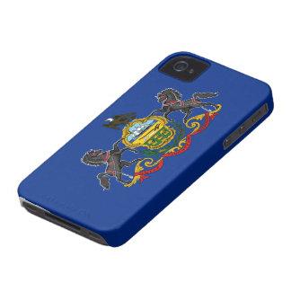 ペンシルバニアの旗 Case-Mate iPhone 4 ケース