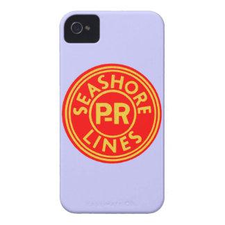 ペンシルバニアの読書海岸はロゴを並べます Case-Mate iPhone 4 ケース