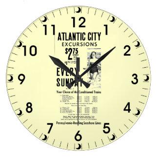 ペンシルバニアの読書海岸は1962年を並べます ラージ壁時計