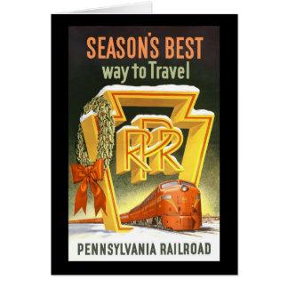 ペンシルバニアの走行する季節で最も最高のな方法鉄道 カード