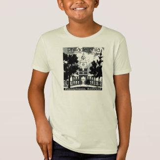 ペンシルバニアの鉄道の訪問フィラデルヒィア Tシャツ