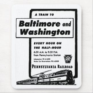 ペンシルバニアの鉄道は一時間毎に1948年を訓練します マウスパッド