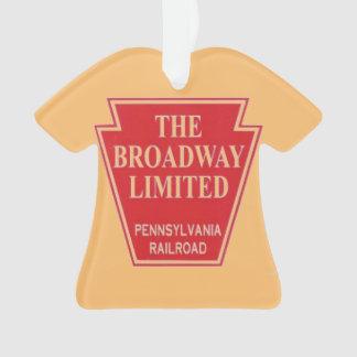 ペンシルバニアの鉄道ブロードウェイによって限られるオーナメント オーナメント