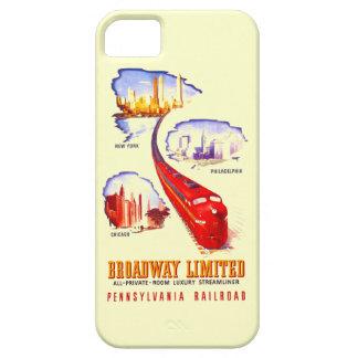 ペンシルバニアの鉄道ブロードウェイ限られたStreamliner Case-Mate iPhone 5 ケース