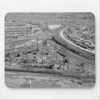 ペンシルバニアの鉄道動物園の接続点 マウスパッド