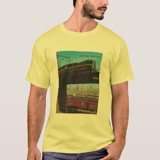 ペンシルバニアの鉄道年報の人のTシャツ Tシャツ