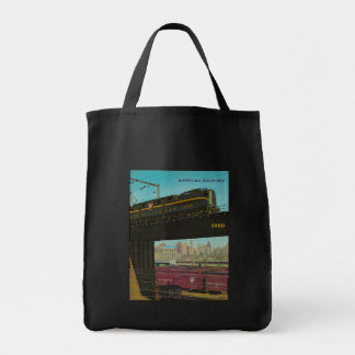 ペンシルバニアの鉄道年報 トートバッグ