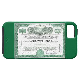 ペンシルバニアの鉄道株券 Case-Mate iPhone 5 ケース