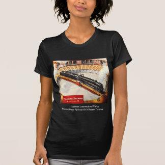 ペンシルバニアの鉄道蒸気タービンの女性のワイシャツ Tシャツ