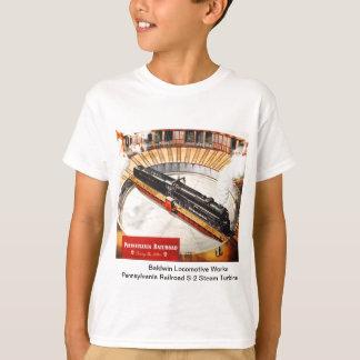 ペンシルバニアの鉄道蒸気タービンの子供のワイシャツ Tシャツ