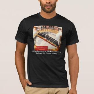 ペンシルバニアの鉄道蒸気タービンのTシャツ Tシャツ