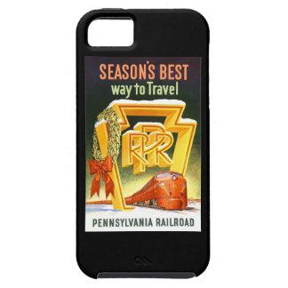 ペンシルバニアの鉄道、走行する季節で最も最高のな方法 iPhone SE/5/5s ケース
