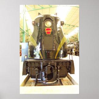 ペンシルバニアの鉄道GG-1機関車# 4935 ポスター