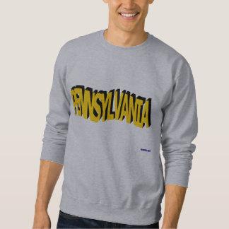 ペンシルバニアの黄色の波のワイシャツ スウェットシャツ