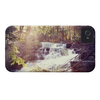 ペンシルバニアのPoconosの工場滝 Case-Mate iPhone 4 ケース